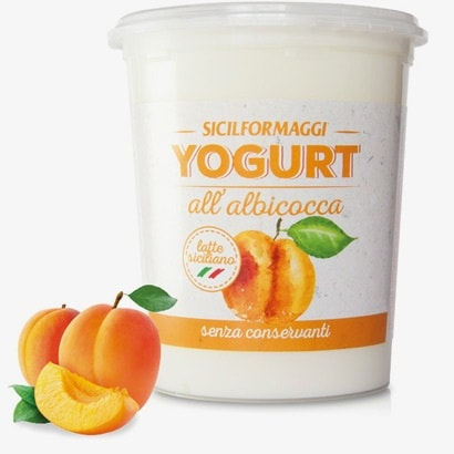 yogurt all'albicocca